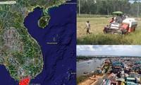 기후 변화에 적응하는 끄우 롱 (Cửu Long)강 평야 재개발