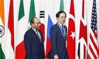 응우옌 쑤언 푹 (Nguyễn Xuân Phúc) 총리, 일본 기술 분야 유수 기업들과 만남