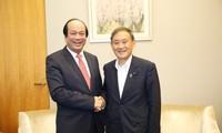 심층적 베트남 – 일본 전략 파트너 관계, 원만히 발전