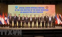 AMAF ASEAN+3 농림업 고위급 관계자 특별 회의