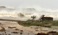 Doksuri a frappé les côtes vietnamiennes