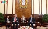 Tran Dai Quang reçoit l'ambassadeur des Etats-Unis