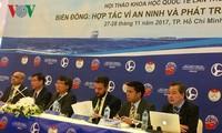 Ouverture d'un symposium international sur la mer Orientale