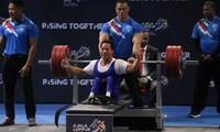 De l'or pour le Vietnam au championnat mondial d'haltérophilie pour les handicapés