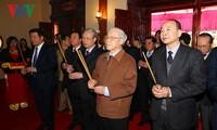 Nguyen Phu Trong rend hommage à Nguyen Duc Canh à l'occasion des 110 ans de sa naissance