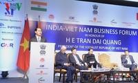 Le président Tran Dai Quang en Inde : un programme chargé