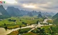 L'Unesco reconnaît le parc géologique de Cao Bang comme étant un géoparc mondial