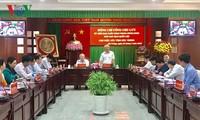 Le vice-président de l'Assemblée nationale Uông Chu Luu à Soc Trang