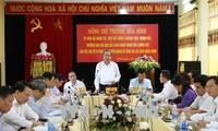Truong Hoà Binh en déplacement à Tuyên Quang
