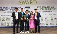 Les étudiants vietnamiens distingués aux OMIC