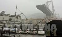 Viaduc effondré à Gênes: 38 morts et plusieurs disparus