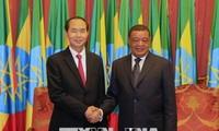Trân Dai Quang termine sa visite en Ethiopie