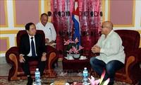 Le Vietnam soutient l'oeuvre révolutionnaire de Cuba