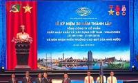 Vuong Dinh Huê au 30e anniversaire de Vinaconex