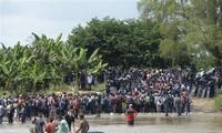 Migrants: 4800 soldats américains dans les États frontaliers du Mexique