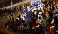 Ouverture des 8e Jeux nationaux