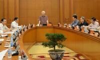 Réunion des élaborateurs des documents du prochain Congrès du Parti communiste vietnamien