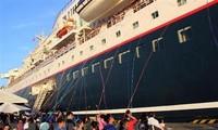 Le bateau de la jeunesse ASEAN - Japon Nippon Maru quitte Hô Chi Minh-ville