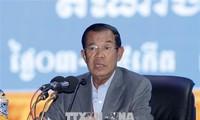 Le Premier ministre cambodgien en tournée officielle au Vietnam