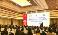 Truong Thi Mai à la conférence sur la promotion des activités humanitaires
