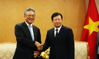 Trinh Dinh Dung reçoit le directeur du groupe japonais Marubeni