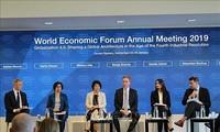 Un Forum économique mondial sans Trump, Macron et May
