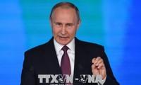 Vladimir Poutine prononce son discours annuel de 2019