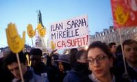 Rassemblement contre l'antisémitisme à Paris
