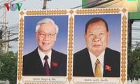 Nguyên Phú Trong achève sa visite au Laos