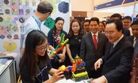 Premier salon international des technologies éducatives au Vietnam