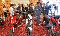 Premier scooter électrique respectueux de l'environnement au Vietnam
