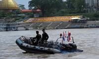 Lancement par quatre pays de la 80e patrouille sur le fleuve Mékong