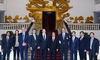 Le ministre allemand de l'Economie et de l'Energie reçu par le Premier ministre