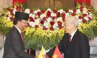 Entretien Nguyên Phú Trong – Haji Hassanal Bolkiah
