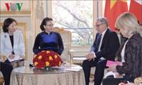 Nguyên Thi Kim Ngân en Belgique: séance de travail avec le Parlement européen