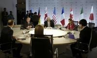 France: Clôture du sommet du G7 à Dinard