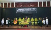 Cérémonie d'hommage au général Dông Sy Nguyên