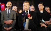 Notre-Dame de Paris : Macron promet que la cathédrale sera rebâtie