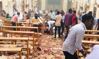Pâques: six explosions dans des hôtels et des églises du Sri Lanka font plus de 130 morts