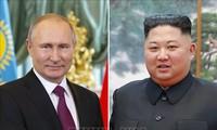 Le Kremlin confirme une rencontre entre Kim Jong-un et Poutine jeudi