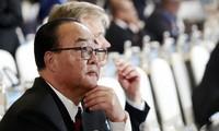 Le ministre nord-coréen des Affaires économiques se montre indifférent aux sanctions