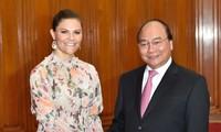 La princesse héritière de Suède reçue par le Premier ministre vietnamien