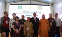 Rencontre du vice-Premier ministre Truong Hoa Binh avec les journalistes au Vesak 2019