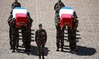 France: hommage national aux deux militaires tués au Burkina Faso
