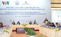 Le Premier ministre assiste à une conférence sur la science, la technologie et l'innovation