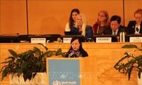 Nguyên Thi Kim Tien à la 72e Assemblée mondiale de la Santé