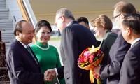Nguyên Xuân Phuc est arrivé à Moscou