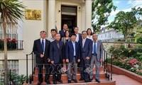 Nguyên Quôc Cuong achève sa visite au Royaume-Uni