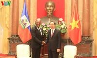 Президент СРВ Чан Дай Куанг принял председателя Сената Республики Гаити