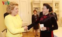Нгуен Тхи Ким Нган встретилась с председателем Совета Федерации РФ